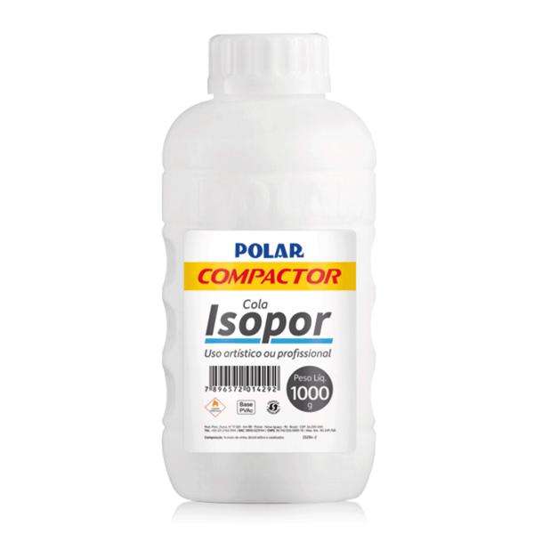Cola para isopor 1000 gramas Polar Compactor unid.