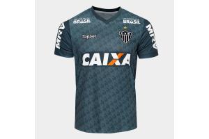 Camisa Atlético Mineiro OFICIAL Treino ATL MC 2018 P/M/G Topper unid.