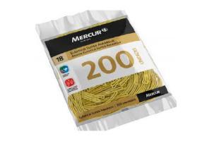 ELASTICO 18 SUPER AMARELO MERCUR PCT 200 UND