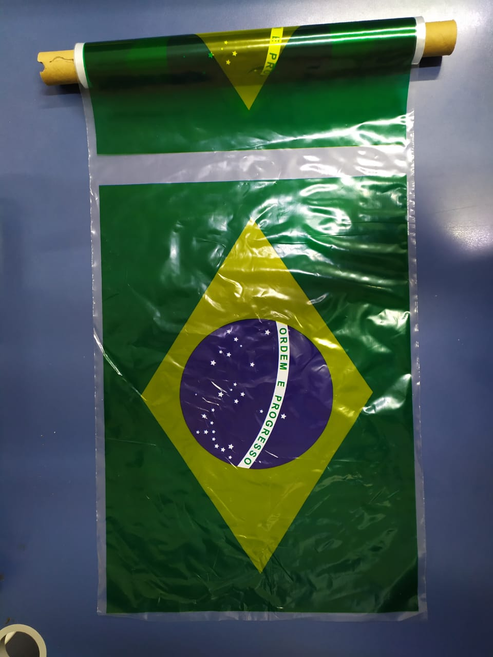 Plástico Mercur 25 metros Brasil Sortido Mercur rolo