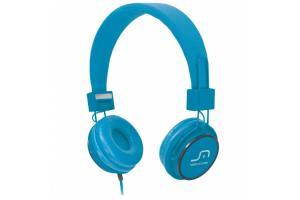 Fone de ouvido com microfone Headfun azul Multilaser PH089 unid.