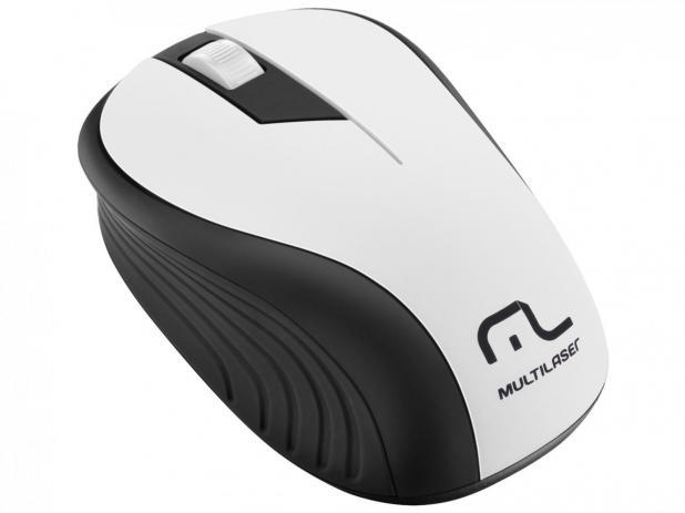 Mouse sem fio 1200 DPI 3 botões PT/BC Multilaser MO216 unid.