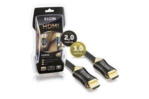 CABO HDMI X HDMI 2 MTS FULL HD 3D PREMIUM ELGIN UND