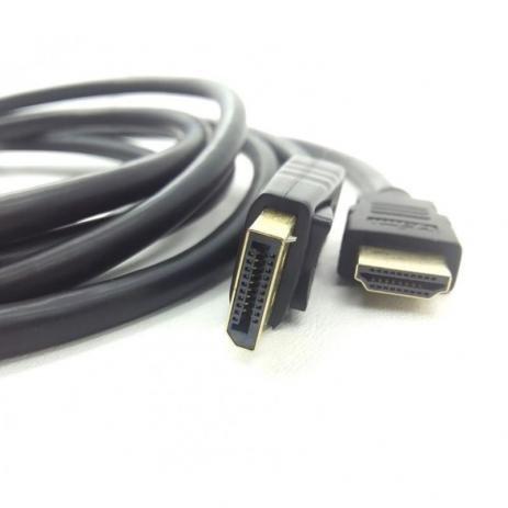 CABO DISPLAYPORT MACHO P/ HDMI 1080P MACHO WI375 MULTILASER