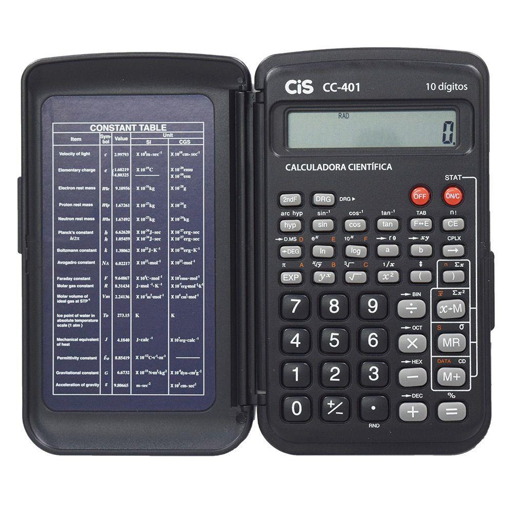 Calculadora Científica CC-401 Cis