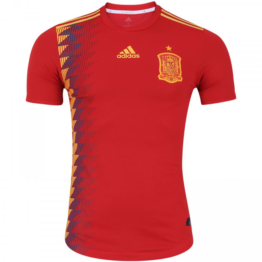 Camisa Espanha OFICIAL I 2018 P/M/G/GG Adidas unid.