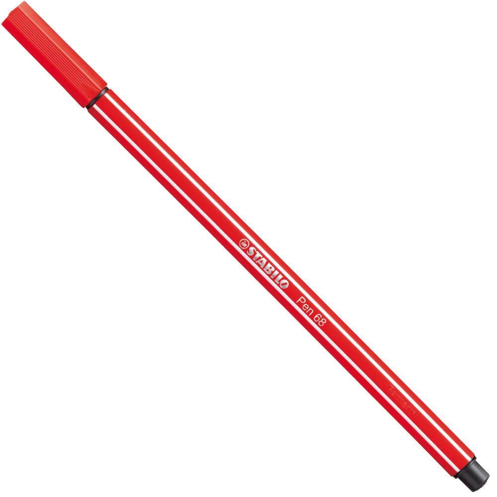 Caneta Pen Stabilo carmim 68/48 Stabilo unid.