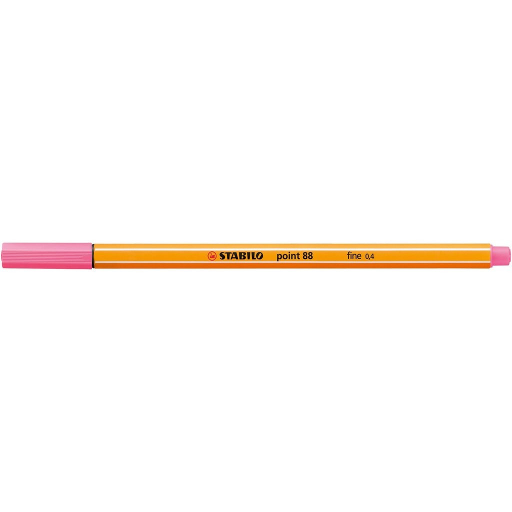 Caneta Point Stabilo 0.4 Fine rosa claro Stabilo 88/29 unid.