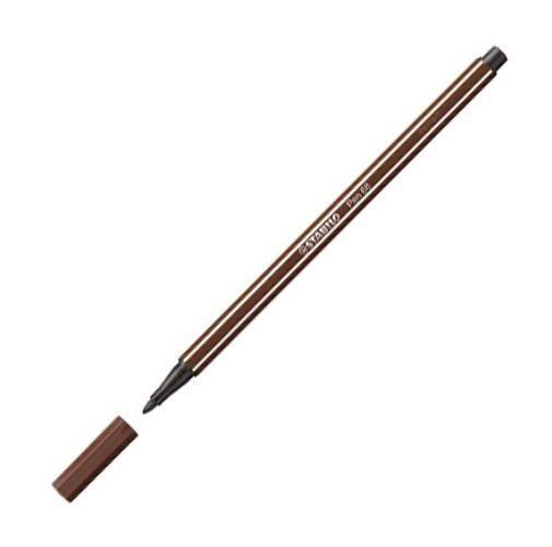 Caneta Pen Stabilo marrom 68/45 Stabilo unid.