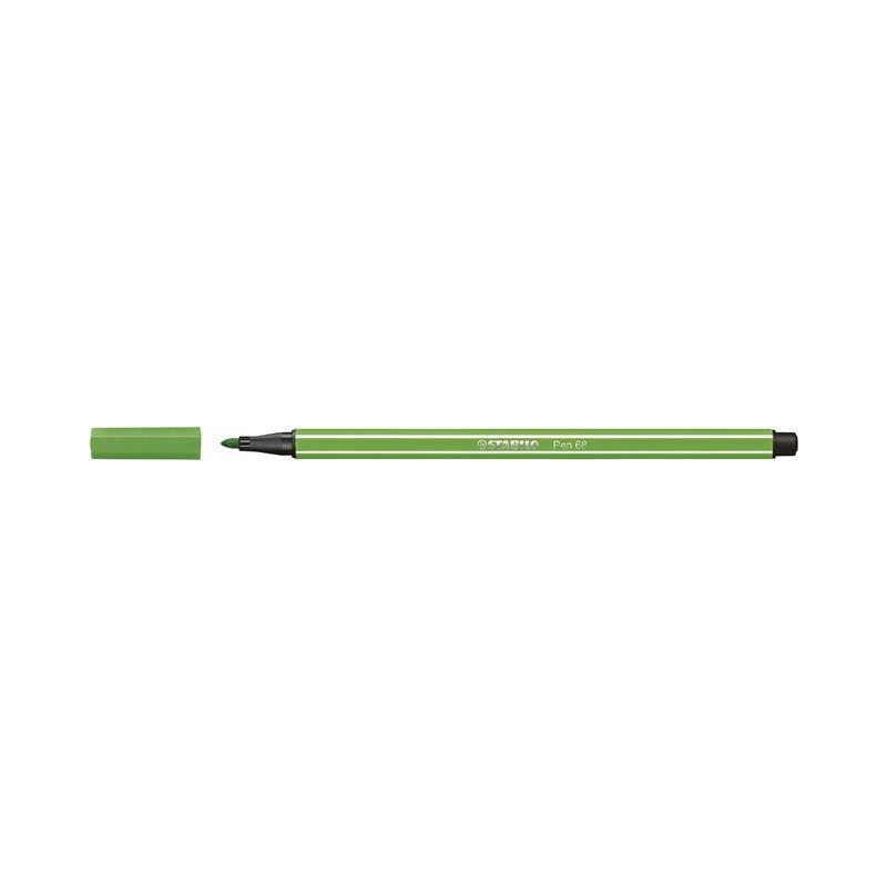 Caneta Pen Stabilo verde folha 68/43 Stabilo unid.