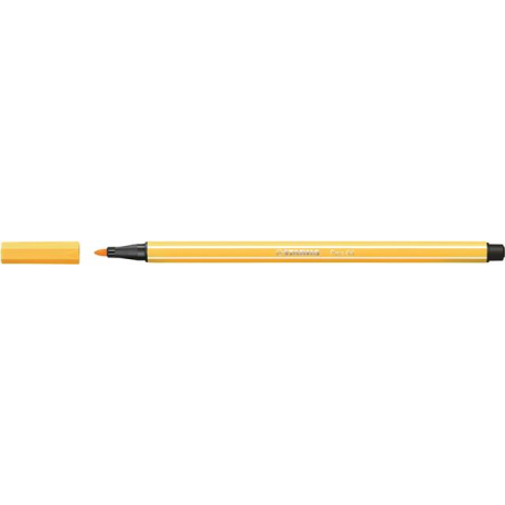 Caneta Pen Stabilo amarelo 68/44  Stabilo unid.