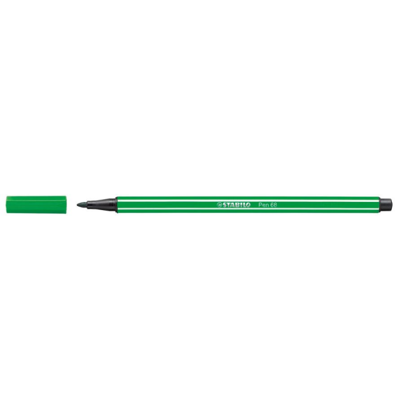 Caneta Pen Stabilo verde esmeralda 68/16 Stabilo unid.