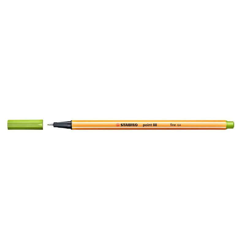 Caneta Point Stabilo 0.4 Fine verde claro Stabilo 88/43 unid.