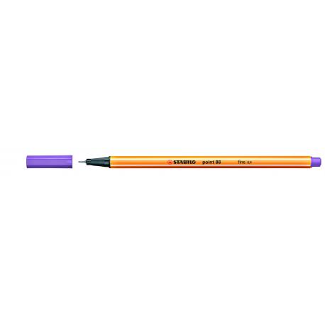Caneta Point Stabilo 0.4 Fine lilás claro Stabilo 88/59 unid.