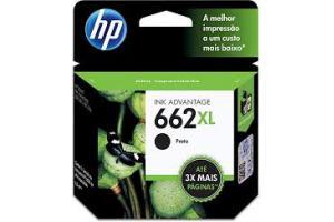 CABECA DE IMPRESSAO 662XL CZ105AB 6,5ML PRETO HP UND