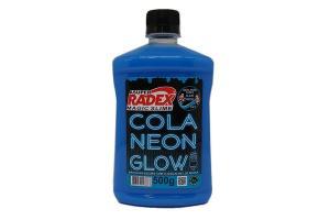 Cola glow slime 500 grs neon 7306 azul  Radex