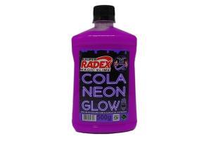 Cola glow slime 500 grs neon 7309 roxa  Radex