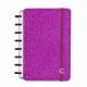 Caderno Inteligente A5 capa dura universitário 60 folhas pink Ambras
