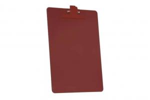 Prancheta plástica prendedor SMC 151.6 vermelha Acrimet unid.