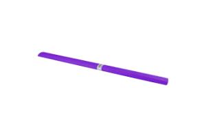 Papel crepom 48cm x 2m violeta pacote com  10 unid.