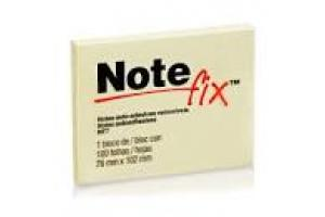 Bloco Note fix nf7 76mm x 102mm 100 folhas amarelo 3m  unid