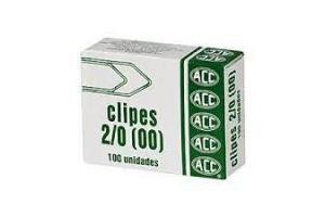 CLIPS GALVANIZADO N 00 2/0 ACC CX 100 UND