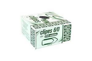 CLIPS GALVANIZADO N 6/0 ACC CX 50 UND