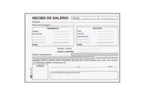 BLOCO RECIBO DE SALARIO 100 FLS 15018 TILIBRA UND