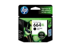 CABECA DE IMPRESSAO 664XL F6V31AB 8,5 ML PRETO HP UND