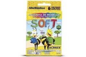 MASSA DE MODELAR SOFT 90 GRS 7316 ACRILEX CX 6 UND