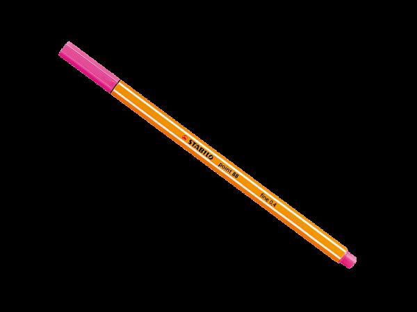 Caneta Point Stabilo 0.4 Fine rosa Stabilo 88/56 unid.