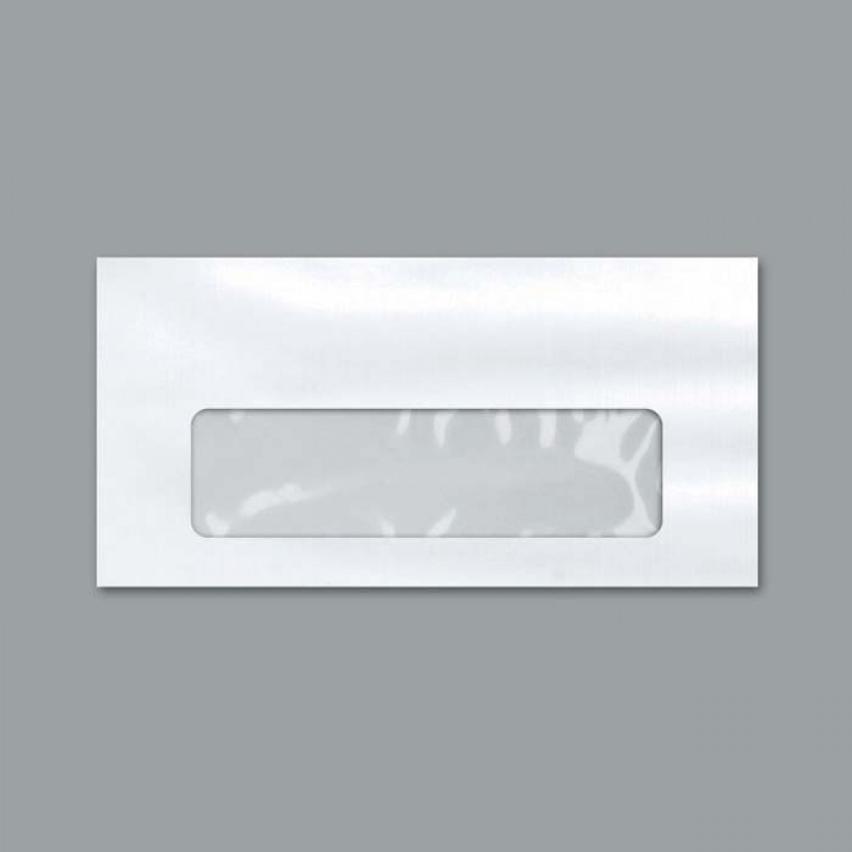 Envelope ofício janela 114 x 229 75 grs branco unid.