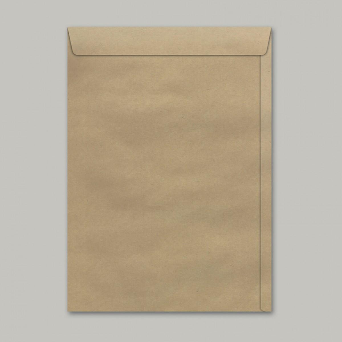 Envelope saco kraft 17 x 25 80 grs unid.