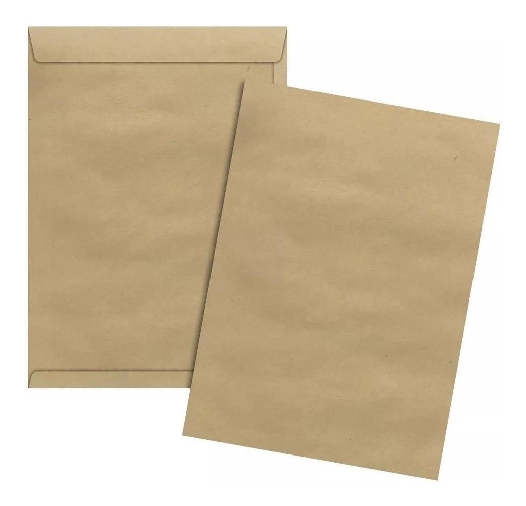 Envelope saco kraft 26 x 36 80 grs unid.