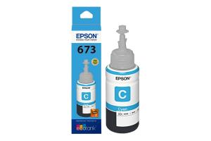 REFIL DE T673220 CIANO DE TINTA 70 ML - T673220 P/ IMP. L800/805 CIANO EPSON UND