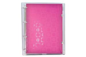 Caderno argolado universitário 10 x 1 192 folhas Basic Rosa DAC unid.