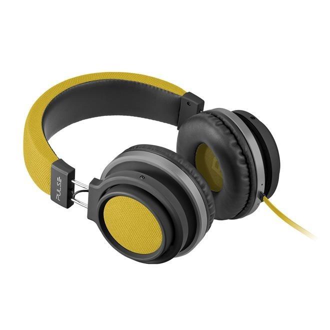 Fone de ouvido Pulse Bluetooth amarelo Multilaser PH233 unid.