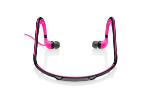 Fone de ouvido EarPhone Sport arco Pulse PH201 rosa Multilaser