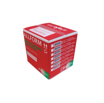 Formulário contínuo razão 80 colunas 1 via 1/2 pag. 305 All Form caixa 6000 unid.