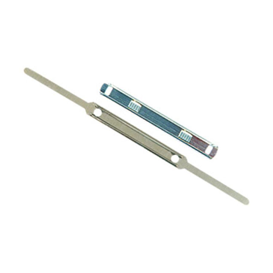 Grampo trilho 80mm Metal acc/leonora/bacchi unid.