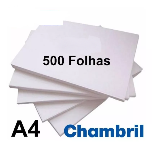 Papel Off-set chambril alcalino para Out Door 76 x 112 75gr International Paper pacote 500 folhas