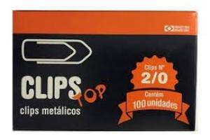 CLIPS N-2/0 C/ 725 UNDS CLIPS TOP CX
