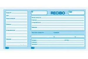 BLOCO RECIBO COMER C/ CANHOTO 100 FLS 15146-7 TILIBRA UND