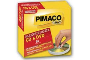 APLICADOR DE ETIQUETAS CDS E DVDS PIMACO UND