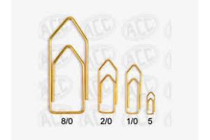 CLIPS LATONADO N 00 2/0 DOURADO ACC CX 100 UND