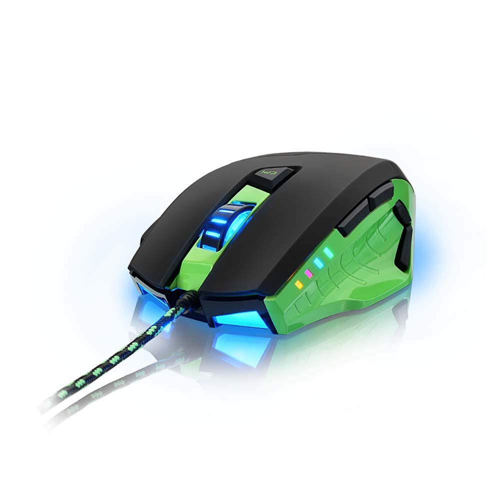 Mouse Gamer 3200 DPI 10 botões Multilaser MO245 unid.