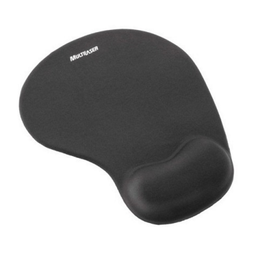 Mouse Pad Gel preto AC024 Multilaser unid.