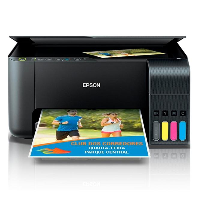 Impressora Multifuncional Ecotank WIFI L3150 Epson unid.