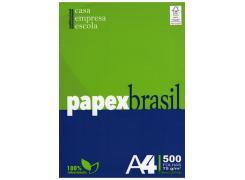 Papel Papex 210 x 297 A-A 75grs Pacote com 500 folhas Papex Brasil