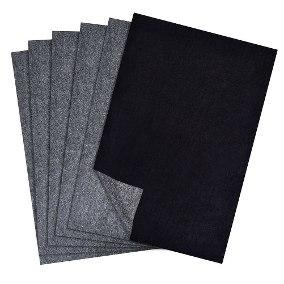 Carbono manual ofício preto Printers Franklin pacote com 100 folhas